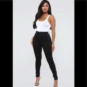 Fashion nova statuesque booty lifting jeans lola